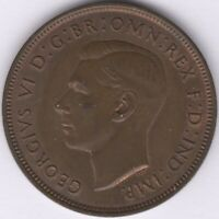1937 George VI One Penny | British Coins | Pennies2Pounds