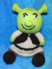 KNITTING PATTERN - Shrek inspired chocolate orange cover / 15 cms toy