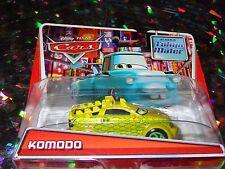 """DISNEY PIXAR CARS """"KOMODO"""" Die-Cast Metal, Scale 1:55, NEWl"""