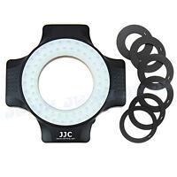 JJC LED Macro Flash Ring Light for 49 52 55 58 62 67mm Filter Thread Camera Lens