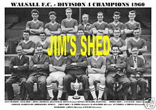 WALSALL F.C. TEAM PRINT 1960   (DIVISION 4 CHAMPIONS)