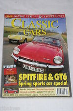 Classic Cars Apr 1996: Triumph GT6/BMW M535/Rover 100/Apollo 5000GT/Gilbern/TVR