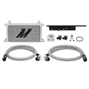 Mishimoto Oil Cooler Kit - Silver - fits Nissan 350Z VQ35DE / VQ35HR - 2003-09
