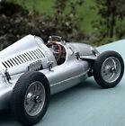 Race Car F1gP Formula 1 Racing 1930 Vintage Racer Carousel Silver 1:18 Scale