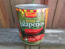 Ricos sliced Jalapenos GIANT 6 Lb. 4 Oz. Can Exp. 9/2020