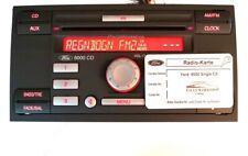 Original Autoradio Ford 6000 Single CD KW2000 Mondeo Fiesta Focus mit Code Karte