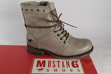 Mustang Girls Boots, Ankle Boots, Boots, Winter Boots, Taupe, Lined New