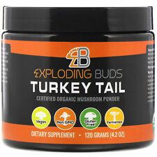 Exploding Buds  Turkey Tail  Certified Organic Mushroom Powder  4 2 oz  120 g