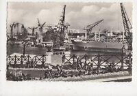 Nantes Vue Sur Le Port France RP Postcard 973a