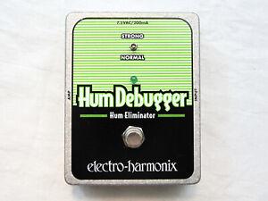 Used Electro-Harmonix EHX XO Hum Debugger Hum Eliminator Guitar Effects Pedal