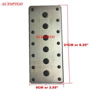 For Lexus Foot Rest Pedal Footrest Carpet Patch Pads Steel + Plastic+ 3M 21*9CM