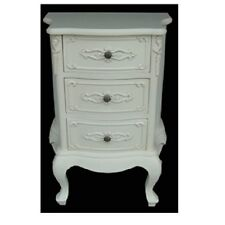 Antique White French Style Drawers / Chest of drawers / Shabby Chic