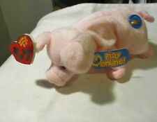 """TY BEANIE BABIES  2.0 """"Sniffs"""" The Pink Pig  all Tags & Unused Codes MINT! 2008"""