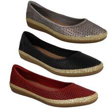 Zapatos planos de mujer manoletinas Clarks