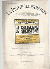 LA PETITE ILLUSTRATION N°254 - LA LETTRE - M.V SOMERSET MAUGHAM