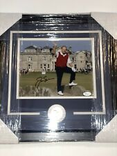 JACK NICKLAUS AUTOGRAPHED SIGNED FRAMED 8x10 PHOTO MASTERS Winner