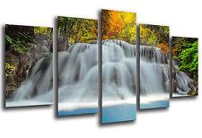 Cuadro Moderno Fotografico Paisaje Cascada Rio Naturaleza,165 x 62 cm ref. 26320