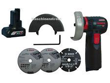 Bosch Akku Winkelschleifer GWS 12V-76 + 12V 4.0 Ah Akku ohne L-BOXX
