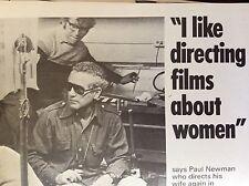 a1m ephemera 1970s film picture articlepaul newman director gamma rays