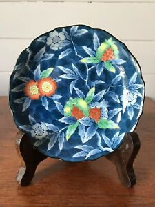 Vintage Hand Painted Japanese Small Dish Signed To Base Made In Japan