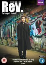 REV Series 1-3 Complete  Tom Hollander  Region 2 PAL DVDs only!