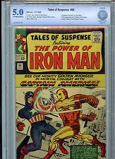 Tales of Suspense #58 Silver Age Marvel Comics CBCS 5.0 1964 2nd Kraven