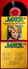 Single Lars Berghagen: Damals vor Deiner Zeit (Polydor 2041 820) D 1976