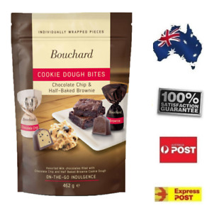 462g Bouchard Belgium Milk Chocolate Chip & Half Baked Brownie Cookie Dough Bite