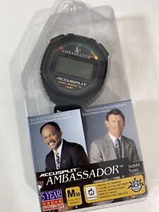 Accusplit Stopwatch Ambassador Turbo Memory 740MX AA740MXT New Sealed