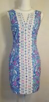 Lilly Pulitzer Target My Fans Shift Dress Size 4