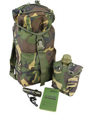 Kids Camouflage DPM WOODLAND PATROL PACK SET Childrens Army Military (Set 65)
