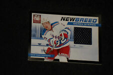 DEREK STEPAN 2012-13 PANINI AUTHENTIC CERTIFIED GAME USED JERSEY CARD RANGERS