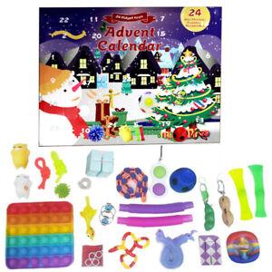 Fidget Toy Advent Calendar PRE ORDER by FidgetCalendar Sensory Toy Christmas