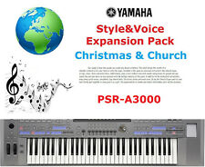YAMAHA PSR A3000 Noël & église Expansion Pack