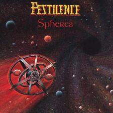 Pestilence - Spheres LP + Poster - Progressive Death Metal - Black Vinyl NEW