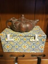Clay Teapot new with Design Box