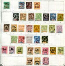 MADAGASKAR 1895-1920 * und gestempelte schöne ALTE SAMMLUNG(67690c