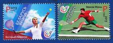 Stamp of BELARUS 2013 - Leaders of Belarus Tennis Azarenka Mirnyi ( 2 stamps)