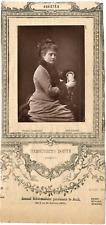 Lemercier, Paris, Variétés, Marguerite Donve Vintage Print, vintage photoglyptie