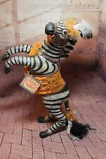 Large Bethany Lowe Amazing Halloween Zebra by Virgie Lightfoot