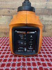 Generac iX2000 2,000 Watt Portable Inverter Generator Untested Parts Repairs