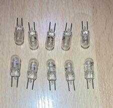 (10)GE 43765 12W 6V Bulbs Original GE Low Voltage Bulbs, Free Ship, Qty Avail