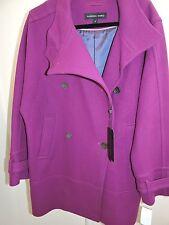 Andrew Marc Italian Virgin Wool Blend Lavender Coat Size - 10