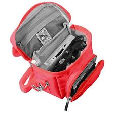 Nintendo DS Bag Travel Carry Case For DS 2DS 3DS DSi XL RED By Orzly