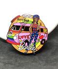 Barbie Hard Rock Cafe Pin Black Volkswagen Beetle Bus Love Peace 60s Groovy RARE