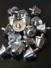 Rugby Union Aluminium Studs 15mm  x  16   Silver