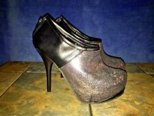 DEB Glitter Purple Sparkle Stilettos High Heels PLAYBOY Womens Shoes Size 7 👠