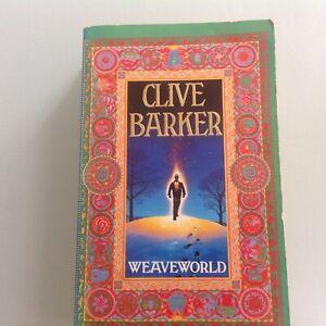 Paperback Book Clive Barker Weaveworld Fontana 1988 Signed