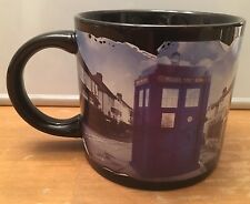 Unemployed Philosophers Guild Official Dr. Who BBC Coffee Mug 2010 Tardis EUC