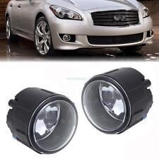 Driver Passenger Fog Light  w/ H11 Halogen Bulbs For Infiniti EX35 FX35 G37 M37
